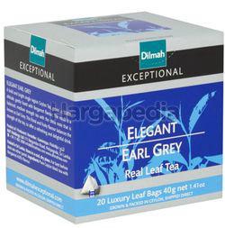 Dilmah Exceptional Elegant Earl Grey Luxury Leaf Bags 20s