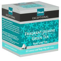 Dilmah Exceptional Fragrant Jasmine Green Tea Luxury Leaf 20s