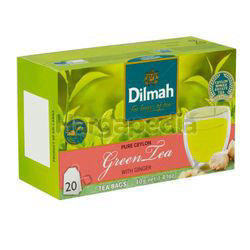 Dilmah Pure Ceylon Green Tea with Ginger 20s
