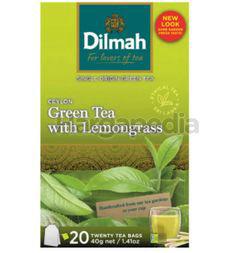Dilmah Pure Ceylon Green Tea with Lemongrass 20s