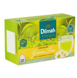 Dilmah Pure Ceylon Green Tea with Chamomile Flowers 20s