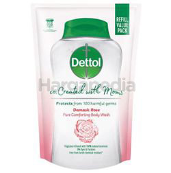Dettol co Created with Moms Shower Gel Refill Damask Rose 450gm