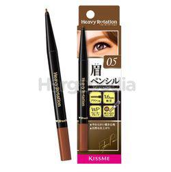 Kiss Me Heavy Rotation Eyebrow Pencil 05 Light Brown 1s
