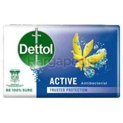 Dettol Bar Soap Active 3x65gm