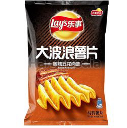 Lay's Potato Chips Grilled Pork 70gm