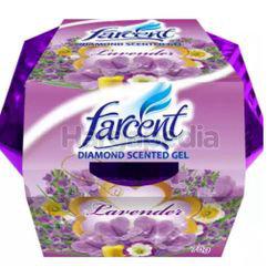 Farcent Diamond Scented Gel Lavender 70gm