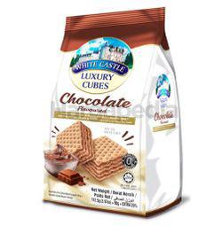 White Castle Luxury Cubes Chocolate Flavour 112.5gm