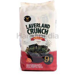 Manjun Laverland Crunch Seaweed Habanero 9x4.5gm