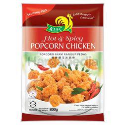 KLFC Hot & Spicy Popcorn Chicken 800gm