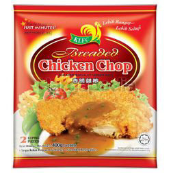 KLFC Breaded Chicken Chop 400gm