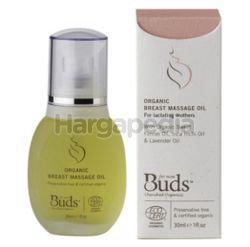 Buds Cherished Breast Massage Oil 30ml