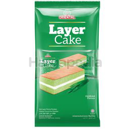 Oriental Layer Cake  Pandan 8x16gm