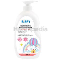 Fiffy Baby Head to Toe Wash Dragon Fruit 750ml