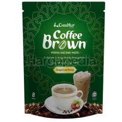 Chek Hup Coffee Brown With Hazelnut 8x25gm