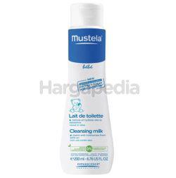 Mustela Cleansing Milk Cleans & Moist 200ml