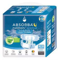Absorba Nateen Adult Diaper Maxi Plus M10