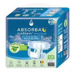 Absorba Nateen Adult Diaper Maxi Plus L10