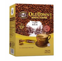 Old Town 3in1 White Coffee Classic 10x38gm