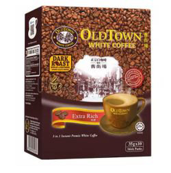 Old Town 3in1 White Coffee Extra Rich 10x35gm