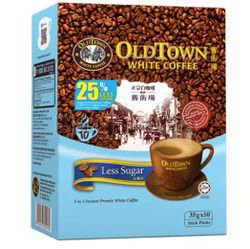 Old Town 3in1 White Coffee Less Sugar 10x35gm