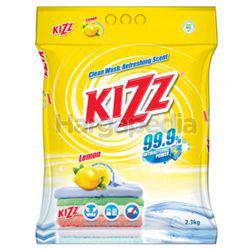 Kizz Detergent Powder Lemon 2.3kg