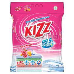 Kizz Detergent Powder Floral Fusion 2.3kg
