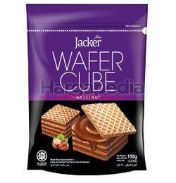 Jacker Hazelnut Wafer Cube 150gm