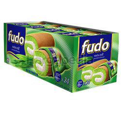 Fudo Pandan Flavours Swiss Cake Roll 24x18gm