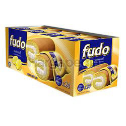 Fudo Butter Flavours Swiss Cake Roll 24x18gm