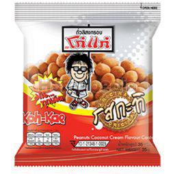 Koh Kae Peanuts Coconut Cream Flavour Coated 35gm