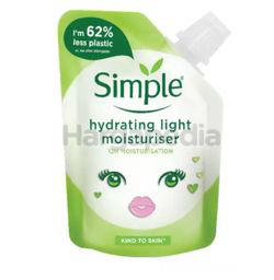 Simple Hydrating Light Moisturiser Pouch 50ml