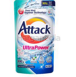 Attack Liquid Detergent Refill Ultra Power 800gm