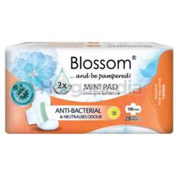 Blossom Day Use Mini Pad Wing 19cm 28s
