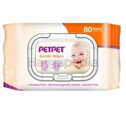 Pet Pet Baby Gentle Wipe 80s