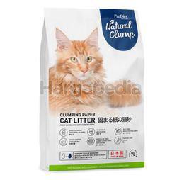 Pro Diet Paper Cat Litter Natural Clump 7lit