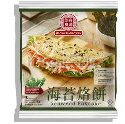 Jia You Liang Yuan Seaweed Pancake 3s 240gm