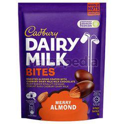 Cadbury Dairy Milk Bites Merry Almond 50gm