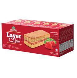 Oriental Layer Cake Strawberry 24x16gm