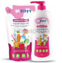 Fiffy Baby Bottle Wash MInt 750ml + 600ml