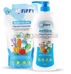 Fiffy Baby Bottle Wash No Flavour 750ml + 600ml