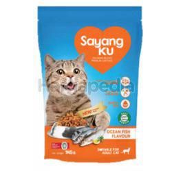 Sayangku Cat Food Ocean Fish 1kg
