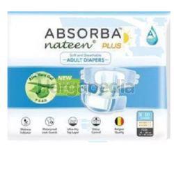 Absorba Nateen Adult Diaper Plus M10