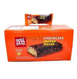 Zess Chocolate Coated Wafer Orange 24x22gm