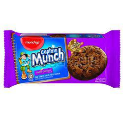 Munchy's Captain Munch Double Chocolate 60gm