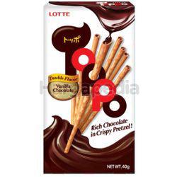 Lotte Toppo Vanilla Chocolate 40gm