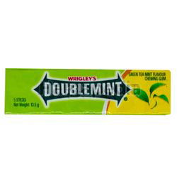 Wrigley's Doublemint Green Tea Mint  Stick 13.5gm