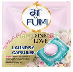ar FUM Laundry Capsules Pink Love 12gm