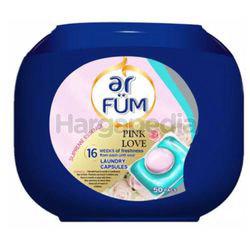 ar FUM Laundry Capsules Pink Love 50x12gm