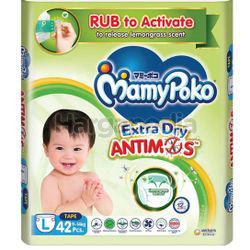 Mamy Poko Extra Dry Protect Antimos Tape L42