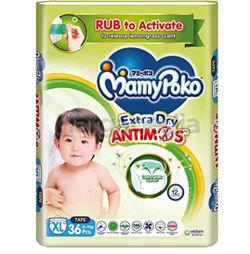 Mamy Poko Extra Dry Protect Antimos Tape XL36